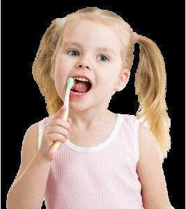 gyermekek és a szájápolás