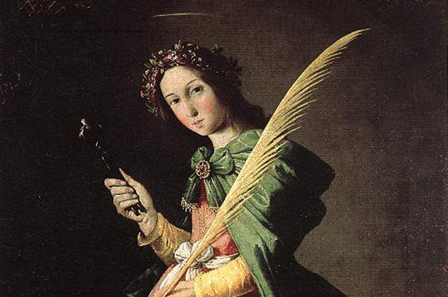 szent apollónia